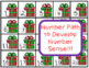 Addition Facts Numeration Math Game Christmas Gift Theme