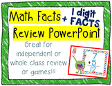 Addition Facts~ Powerpoint Review