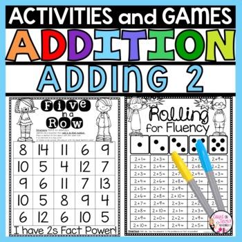 Adding for Kindergarten Adding by 2