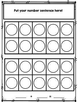 Addition Facts Practice: Making Ten Math Center Activity
