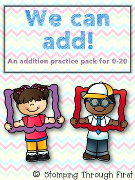 Addition Facts Practice Pack for 0-20