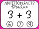 Addition Facts Practice: Threes Interactive PDF Paperless Digital