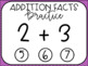 Addition Facts Practice: Twos Interactive PDF Paperless Digital