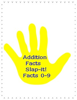 Addition Facts Slap-it!