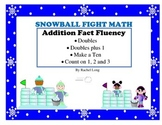 Addition Facts- Snowball Fight