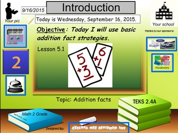 Addition Facts Strategies