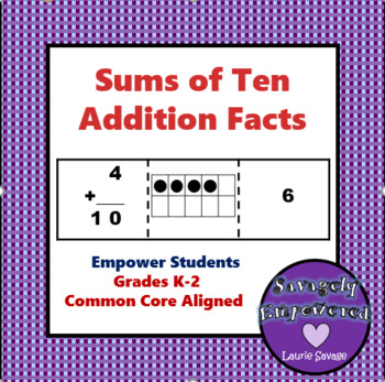 Addition Facts: Sums of Ten / Math Intervention