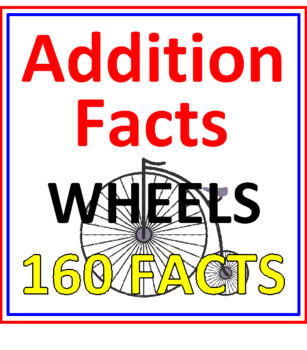 Addition Facts Wheels (160 Facts)