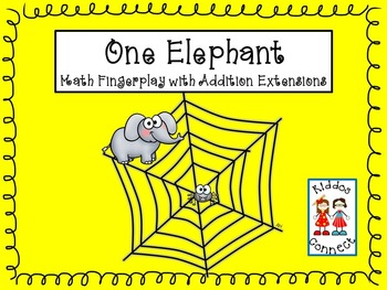 Addition Facts With One Elephant Fingerplay/Song