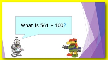 Addition Facts in Five Minutes - add 10 or 100 more
