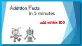 Addition Facts in Five Minutes - add within 100