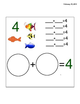 Addition Facts-Interactive-Colorful-for the Smart Notebook 11