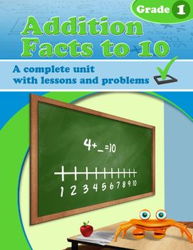 Addition Facts to 10 - Grade 1