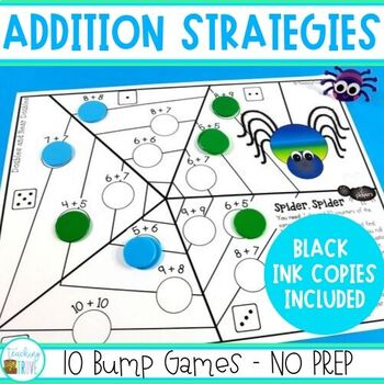 Addition Strategy Games  - Bump Games