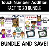 Addition to 20 Growing Bundle:  Touch Math