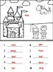 Addition Fairy Tale Sums To 10 (Tiny Little Sight Word Page Included)