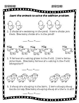 Addition Farm Facts Sample
