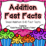 Addition Fast Facts {Fluency Quizzes}