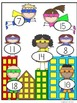 Addition File Folder Game - Superhero Theme
