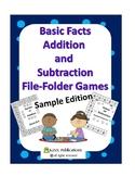 Addition File-Folder Game Sample