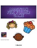 Addition File Folder Matching Game