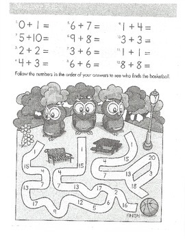 Addition First Grade
