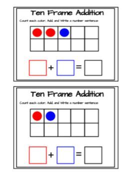 Addition- First steps packet