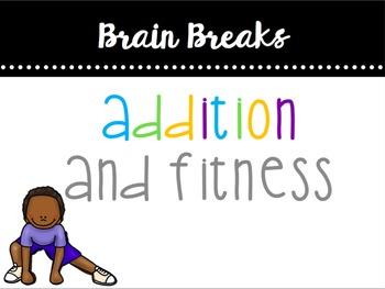Addition & Fitness (1-10) Brain Break