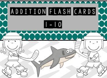 Addition Flash Cards 1-10