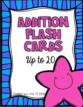Addition Flash Cards to 20