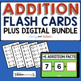 Addition Flash Cards + Digital Bundle
