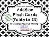 Addition Flash Cards (Facts to 20)
