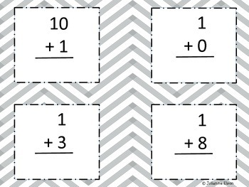 Addition Flash Cards Pack (Numbers 1-9)