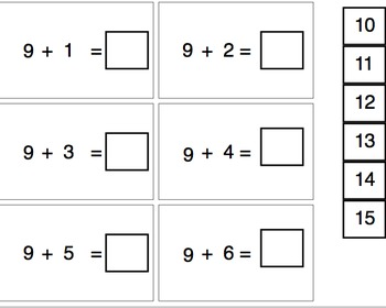 Addition Flash Cards-Special Education