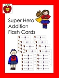 Addition Flash Cards (Super Hero)