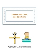 Addition Flash Cards and Data Forms