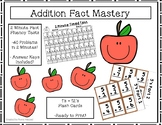 Addition Flash Cards and Timed Test