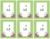 Addition Flash Cards~ sum to 20 ~ Spring