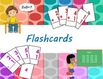 Addition Flashcards (0-12)