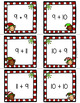 Addition Flashcards to 20 -- Christmas Elves