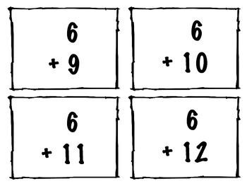 Addition Flashcards 1-11