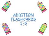 Addition Flashcards  1-5