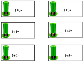 Addition Flashcards 1-5