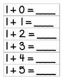 Addition Flashcards with Addends to 10