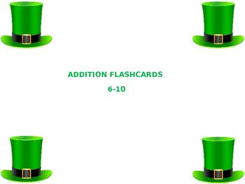 Addition Flashcards 6-10
