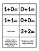 Addition Flashcards (Addition within 5)