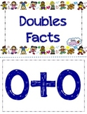 Addition Flashcards (Doubles and Doubles +1) - Common Core