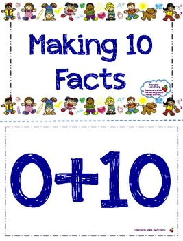 Addition Flashcards (Making 10) - Aligned with Common Core Standards