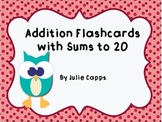 Addition Flashcards for Common Core