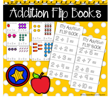 Addition Facts Flip Book 2